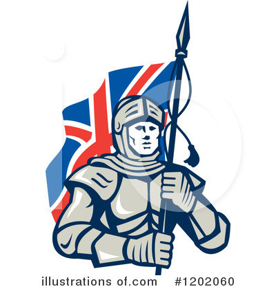 Knight Clipart #1202060 by patrimonio