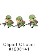 Soldier Clipart #1208141 by BNP Design Studio