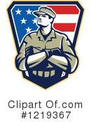 Soldier Clipart #1219367 by patrimonio