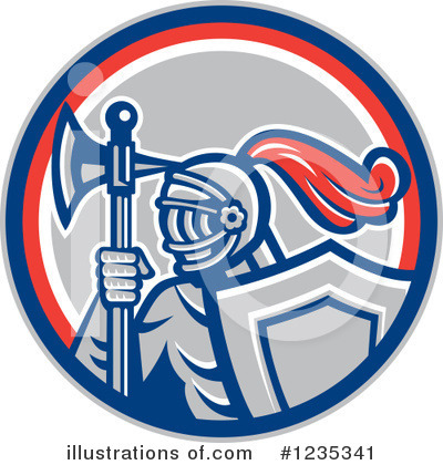 Knight Clipart #1235341 by patrimonio