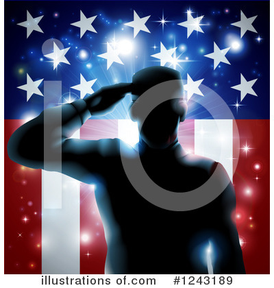Memorial Day Clipart #1243189 by AtStockIllustration
