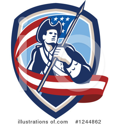 Patriot Clipart #1244862 by patrimonio