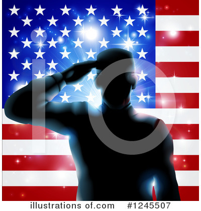 Memorial Day Clipart #1245507 by AtStockIllustration