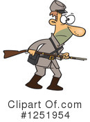 Soldier Clipart #1251954 by toonaday