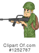 Royalty-Free (RF) Soldier Clipart Illustration #1252787