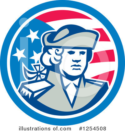 Patriot Clipart #1254508 by patrimonio