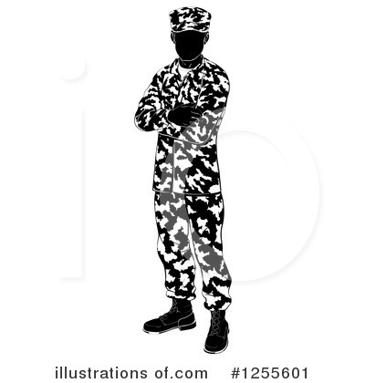 Camouflage Clipart #1255601 by AtStockIllustration