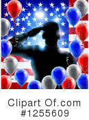 Soldier Clipart #1255609 by AtStockIllustration