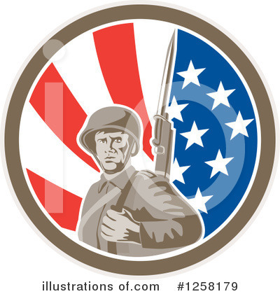 Military Clipart #1258179 by patrimonio