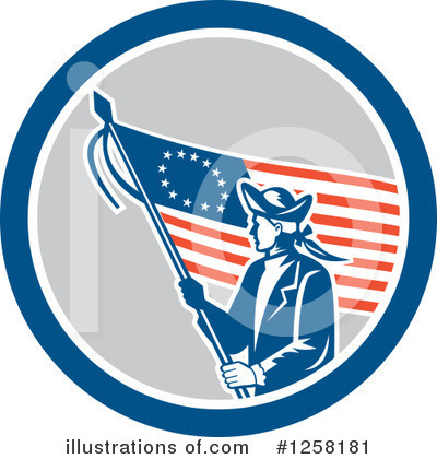 Patriot Clipart #1258181 by patrimonio