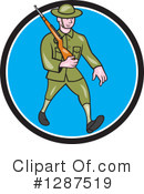 Soldier Clipart #1287519 by patrimonio