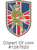Soldier Clipart #1287520 by patrimonio