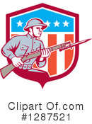 Soldier Clipart #1287521 by patrimonio