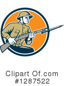 Soldier Clipart #1287522 by patrimonio