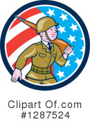 Soldier Clipart #1287524 by patrimonio