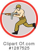 Soldier Clipart #1287525 by patrimonio