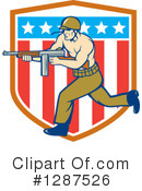 Soldier Clipart #1287526 by patrimonio