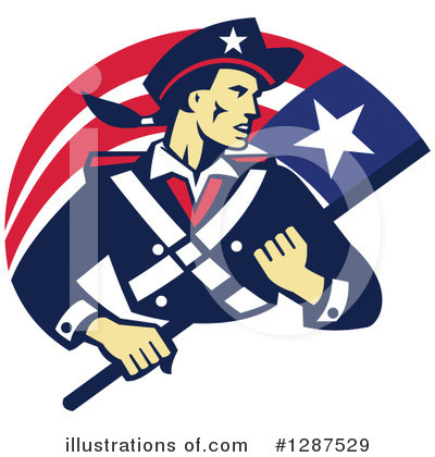 Patriot Clipart #1287529 by patrimonio