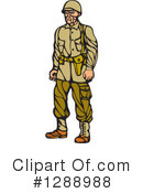 Soldier Clipart #1288988 by patrimonio