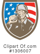 Soldier Clipart #1306007 by patrimonio