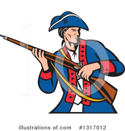 Patriot Clipart #1317012 by patrimonio