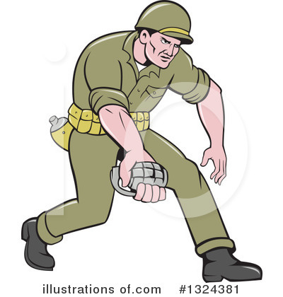 Soldier Clipart #1324381 by patrimonio