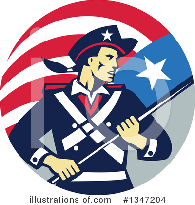Patriot Clipart #1347204 by patrimonio