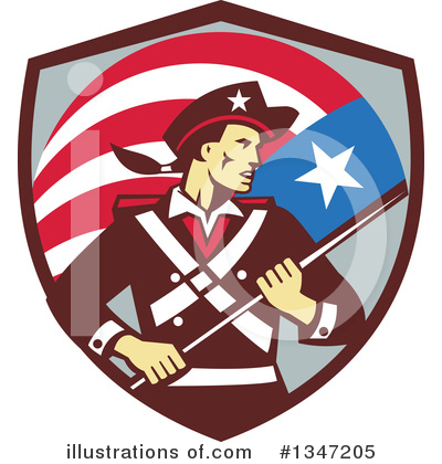 Patriot Clipart #1347205 by patrimonio