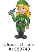 Soldier Clipart #1380743 by visekart