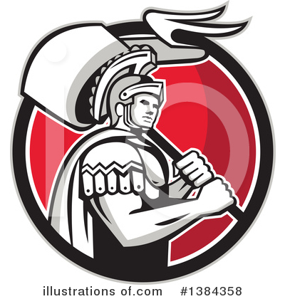 Royalty-Free (RF) Soldier Clipart Illustration by patrimonio - Stock Sample #1384358