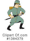 Soldier Clipart #1384379 by patrimonio