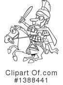 Royalty-Free (RF) Soldier Clipart Illustration #1388441