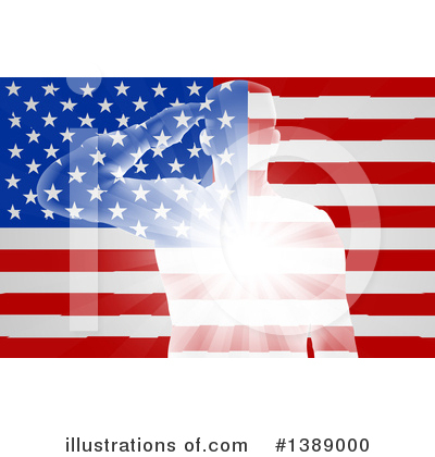 Flag Clipart #1389000 by AtStockIllustration