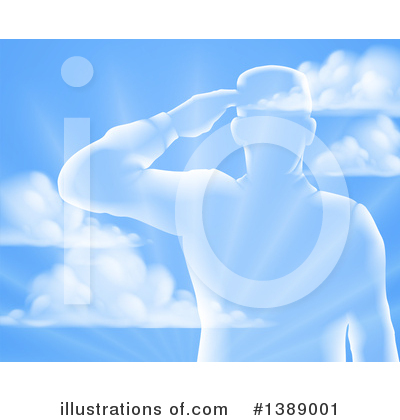 Soldier Clipart #1389001 by AtStockIllustration