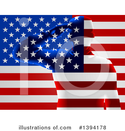 Memorial Day Clipart #1394178 by AtStockIllustration