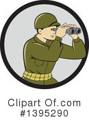 Soldier Clipart #1395290 by patrimonio