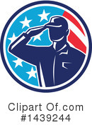 Soldier Clipart #1439244 by patrimonio