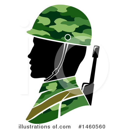 Royalty-Free (RF) Soldier Clipart Illustration by BNP Design Studio - Stock Sample #1460560