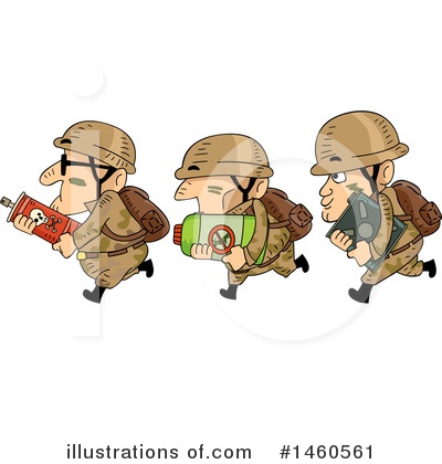 Soldier Clipart #1460561 by BNP Design Studio