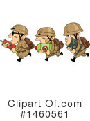 Royalty-Free (RF) Soldier Clipart Illustration #1460561