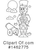 Royalty-Free (RF) Soldier Clipart Illustration #1462775
