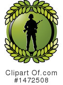 Soldier Clipart #1472508 by Lal Perera