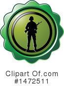 Soldier Clipart #1472511 by Lal Perera