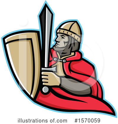 Royalty-Free (RF) Soldier Clipart Illustration by patrimonio - Stock Sample #1570059