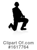 Soldier Clipart #1617764 by AtStockIllustration