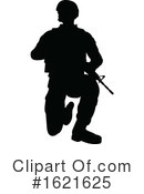Soldier Clipart #1621625 by AtStockIllustration