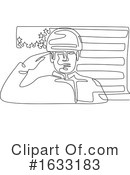 Soldier Clipart #1633183 by patrimonio