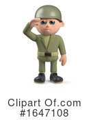 Soldier Clipart #1647108 by Steve Young