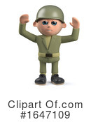 Soldier Clipart #1647109 by Steve Young