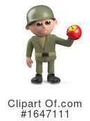 Soldier Clipart #1647111 by Steve Young